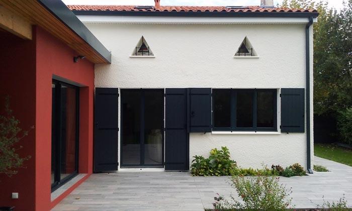 Exceptionnel Extension avec terrasse couverte et rénovation partielle de l  SZ83
